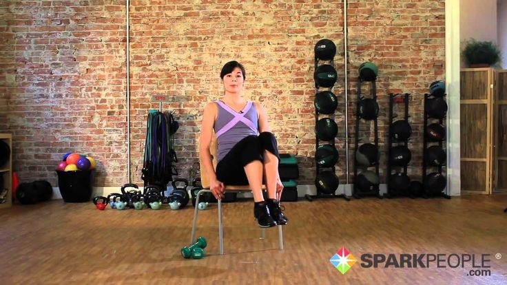 Seated Abs Workout: Chair Exercises for Your Core