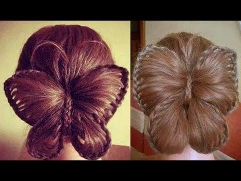 Butterfly Braid! Trenza Mariposa - YouTube