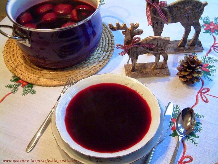 Wigilijny barszcz czerwony na zakwasie, według receptury mojej babci