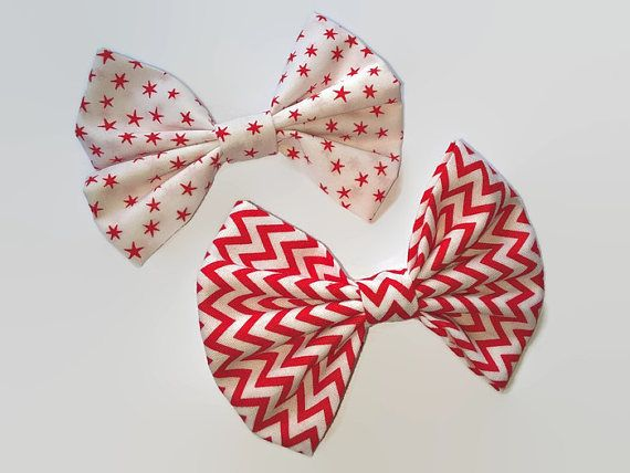 Check out this item in my Etsy shop https://www.etsy.com/uk/listing/510384976/hair-bows-star-hair-bows-fabric-hair