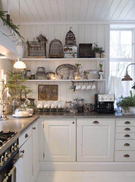 Villa Huvudsta Inredning: Mitt julhem i Hem och Antik
