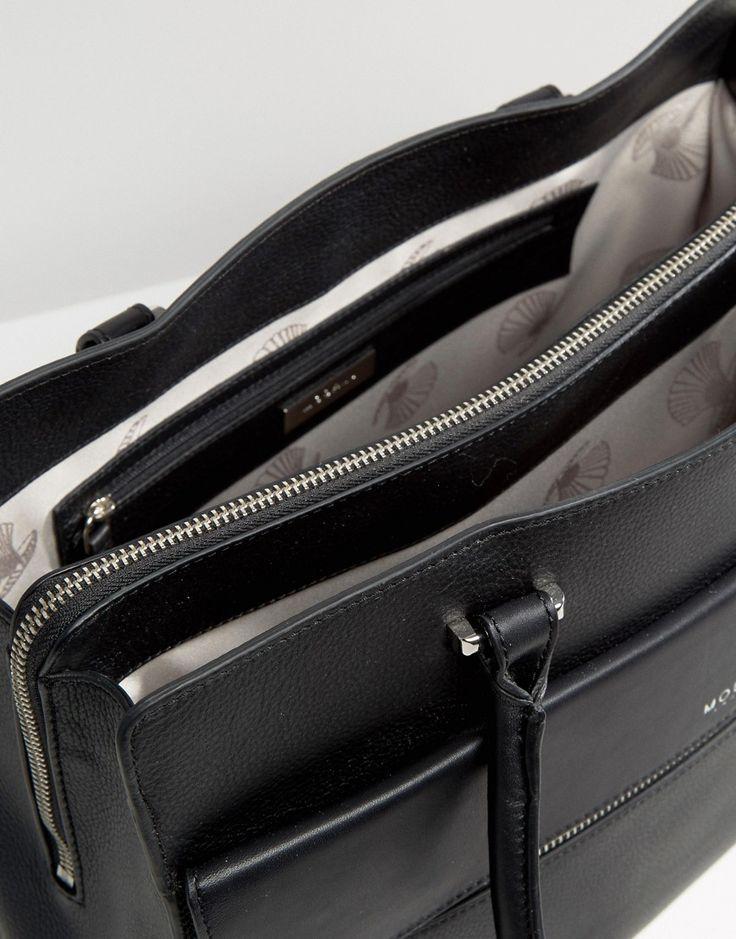 Image 4 - Modalu - Sac fourre-tout rigide en cuir