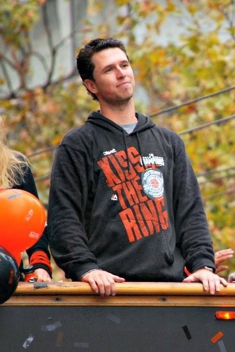 Buster Posey!!!  Best Catcher Ever!!