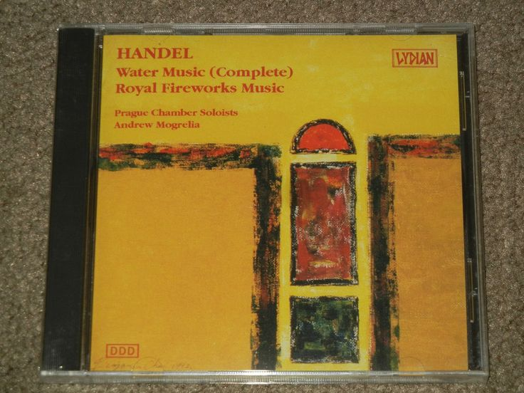 HANDEL: Water Music: Royal Fireworks Music (CD, Music, Classical, Instrument) #Classical