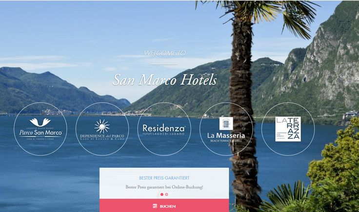 The homepage of the San Marco Hotels and their restaurants http://www.san-marco-hotels.com/