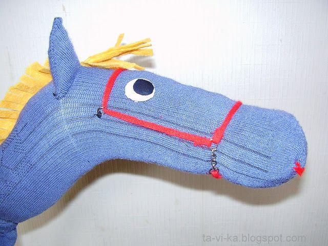 лошадка на палочке