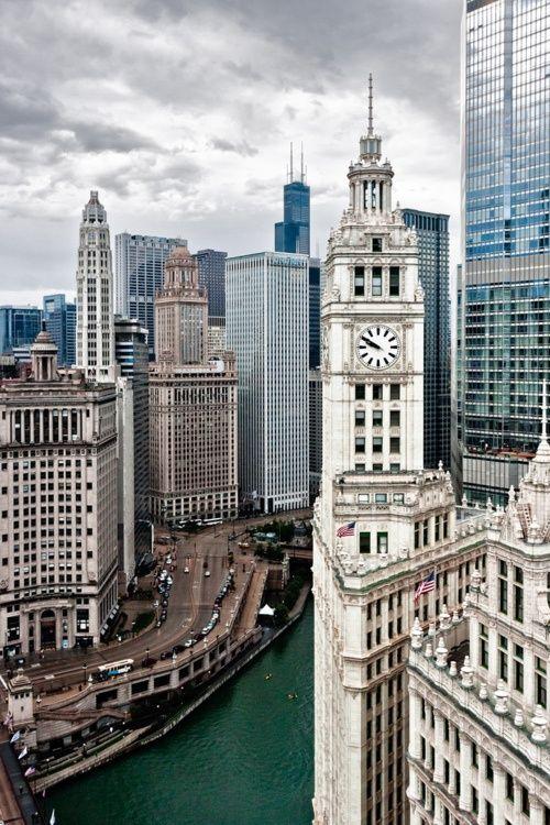 I love Chicago.: Beautiful Cities, Favorite Places, Chitown, Beautiful Chicago, Rivers, Chicago Hom, Sweet Home, Windi Cities, Chi Town