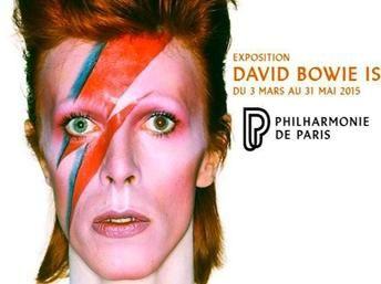 Affiche de l'exposition David Bowie, du 3 mars au 31 mai 2015.