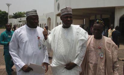 President of the Senate, Dr. Bukola Saraki, Speaker House of Representatives, Hon. Yakubu Dogara and other members of the National Assembly