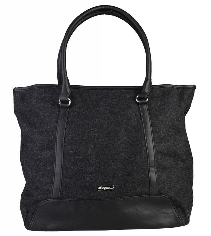 Dámská kabelka Segue, shopper bag - černá barva | obujsi.cz - dámská, pánská, dětská obuv a boty online, kabelky, módní doplňky