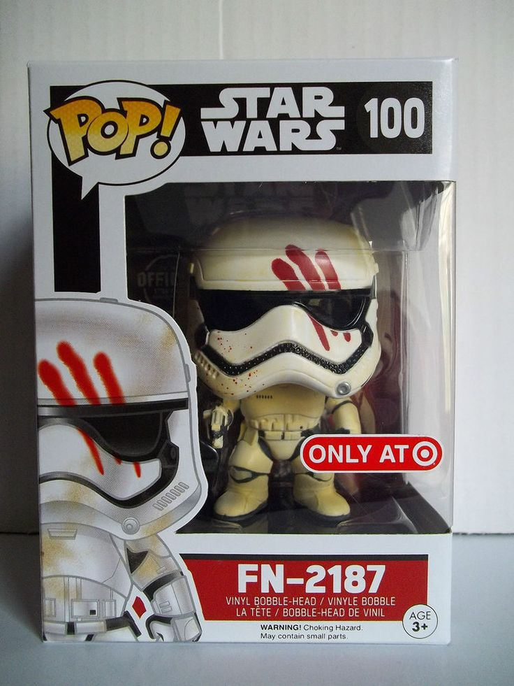 Funko POP! STAR WARS FN-2187 100 Target Exclusive The Force Awakens Vinyl Figure