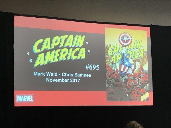 Marvel Comics Announces The Return Of Captain America With Mark Waid And Chris Samnee