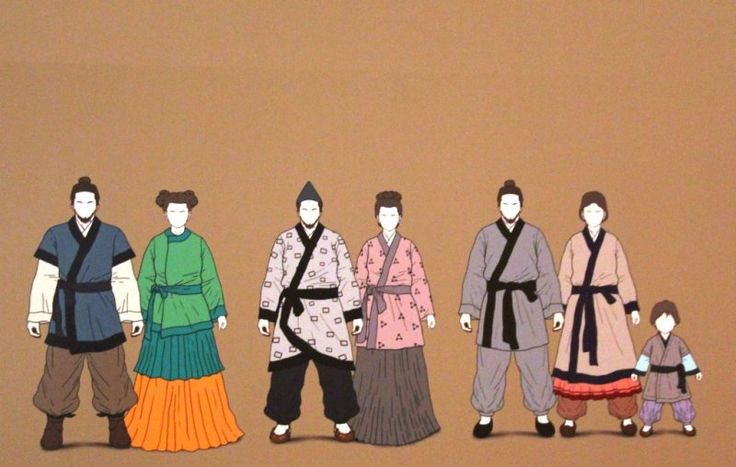 Basic attire of Baekje era(BC18-AD660) #hanbok