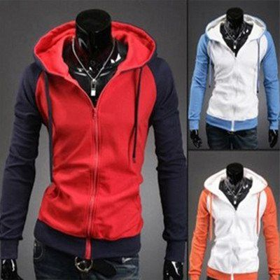 Two Colour Hoodies