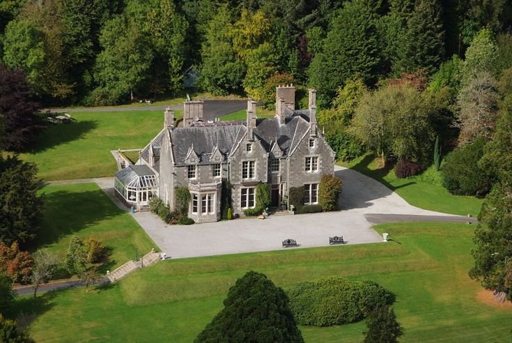 Hoscote Estate Roxburghshire Scotland Stately United