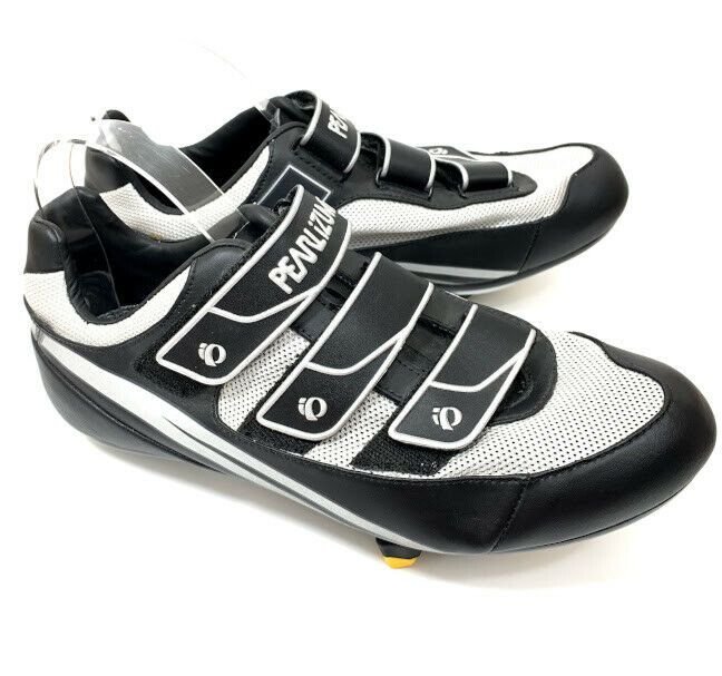 Pearl Izumi Quest Road Rd Mens Cycling Bike Shoes Black Silver