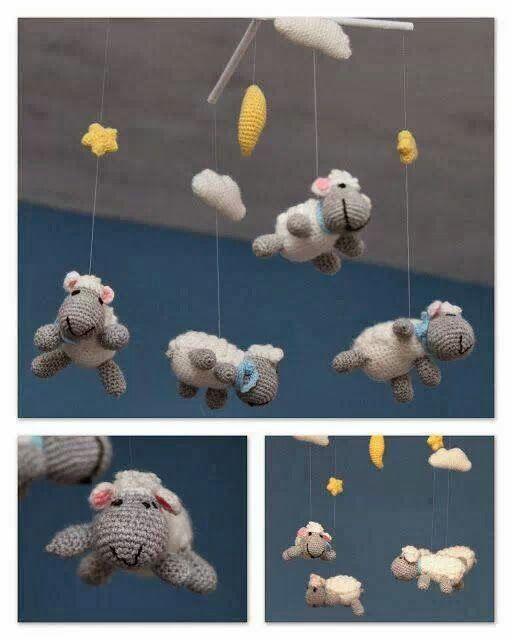 movil ovelletes amigurumi