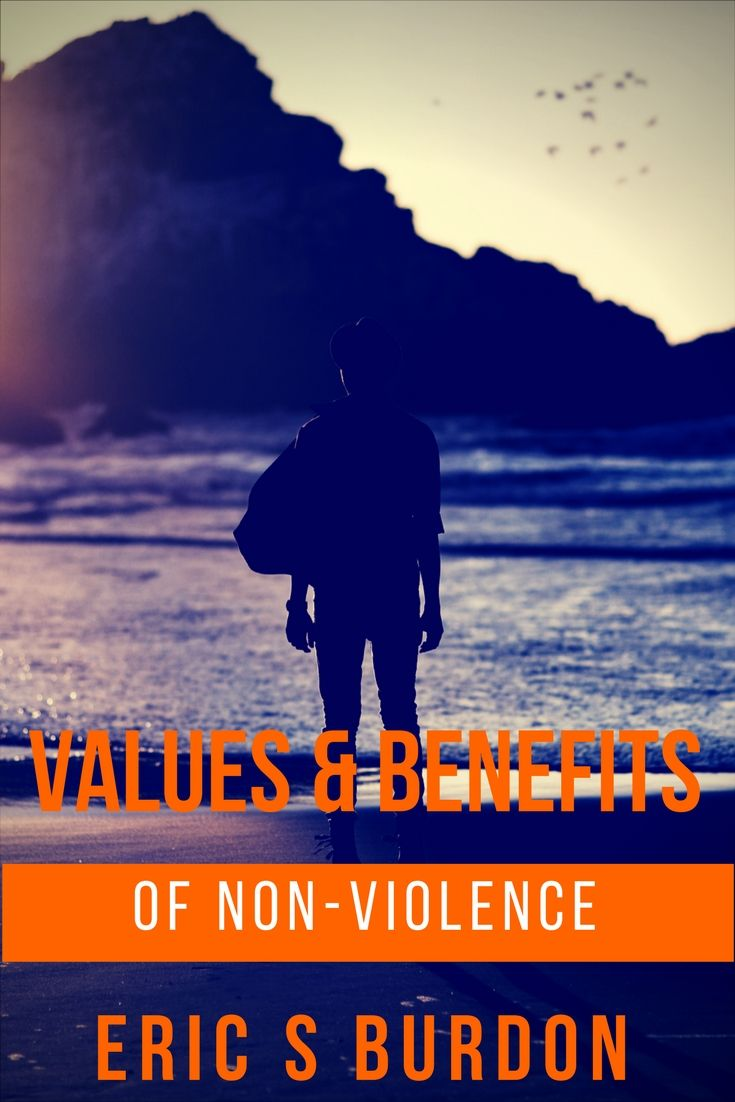 Today's guest post focuses on the benefits and values of non-violence.