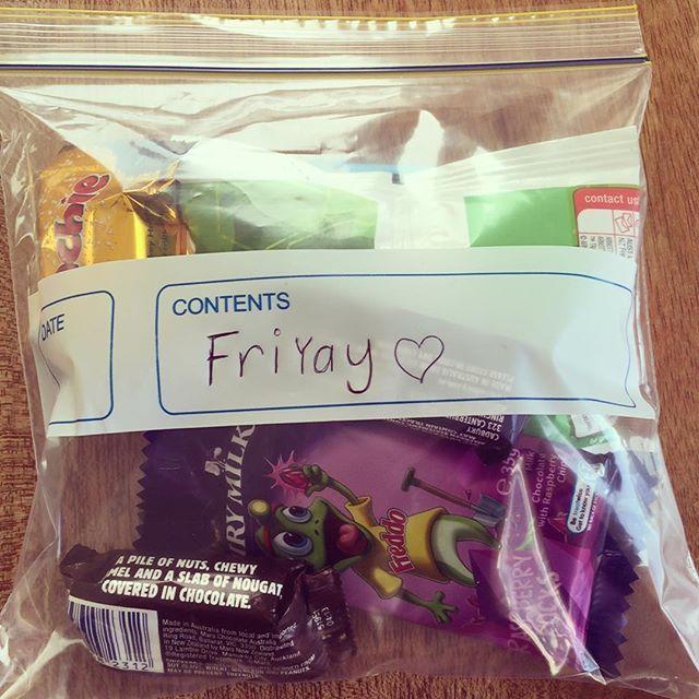 #FriYaY love from @tmichlik! #treats