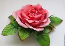 Роза из фоамирана: мастер класс и видео по её изготовлению