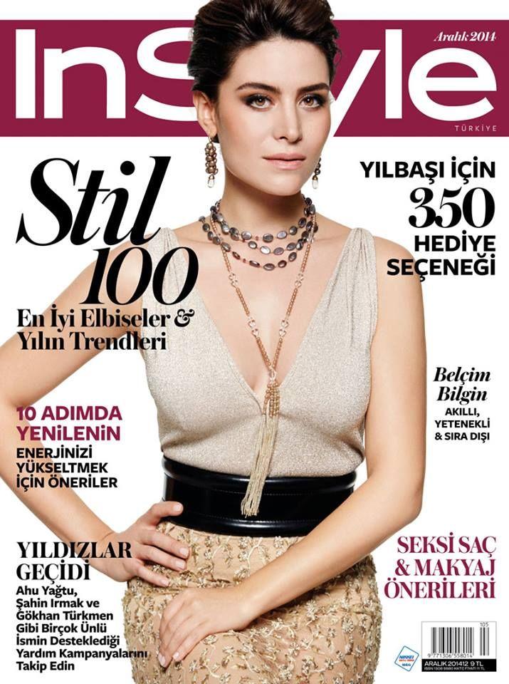 Belçim Bilgin for InStyle Turkey December 2014