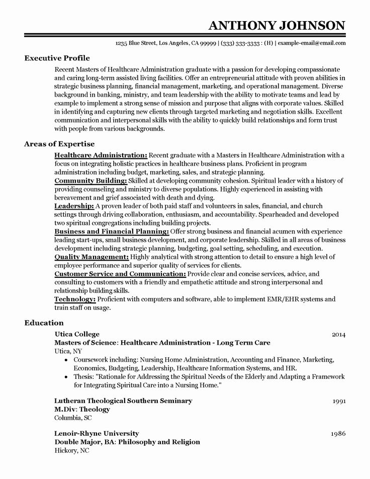 Resume Objectives for Healthcare Unique Professional Entry