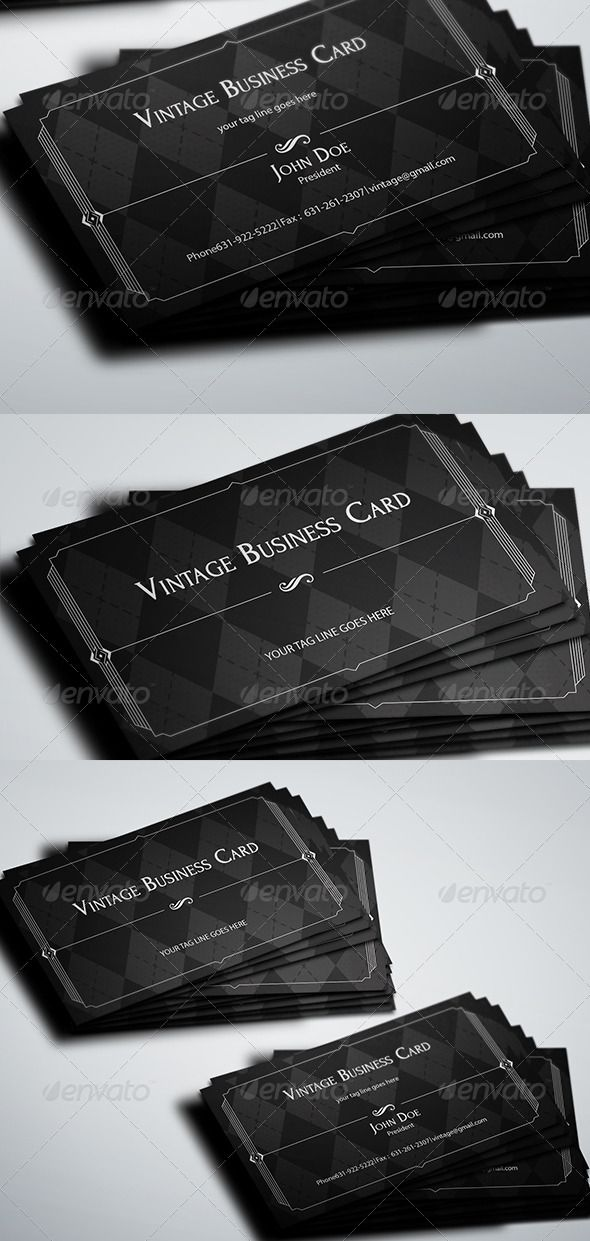 176 best print templates images on pinterest print templates vintage business card graphicriver vintage business card compatibility adobe photoshop cs4 cs5 reheart Image collections