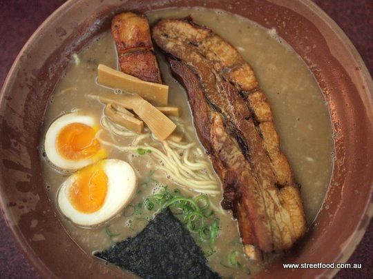 Gumshara Japanese Ramen ~ Heavy Pork Rib Ramen - Eating World - Chinatown