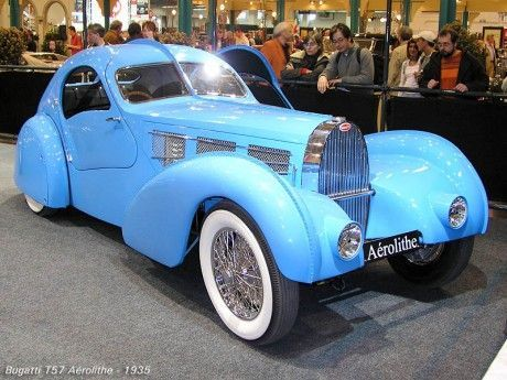 1935 Bugatti T57 Aerolithe..Re-pin Brought to you by #HouseofInsurance for #CarInsurance Eugene, Oregon