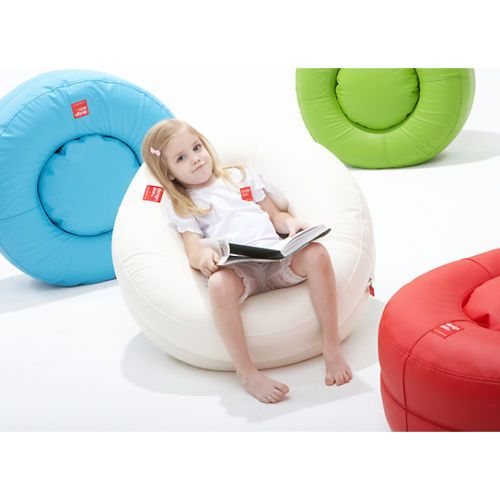 Delightful [DESIGN SKIN] Children Donut Soft Sofa (DB10) Air Mesh Bean Cushion