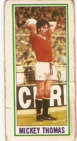 Mickey Thomas Manchester United