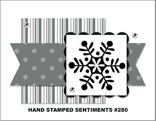 Hand Stamped Sentiments stamping challenge blog and paper craft challenge blog