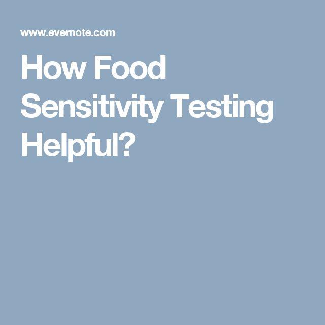 How Food Sensitivity Testing Helpful?