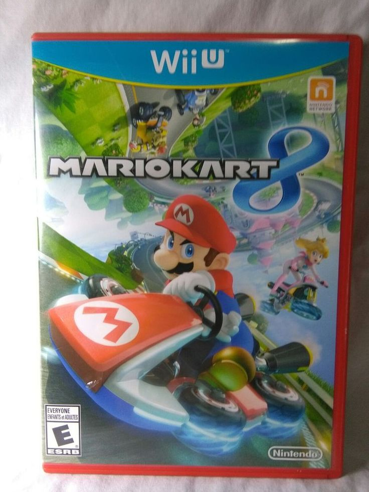 MARIO KART 8 Nintendo Wii U - COMPLETE w/ Instructions and Case   eBay