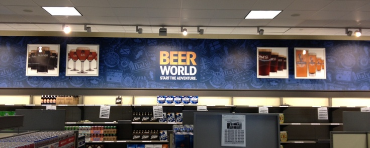 In Store Signage
