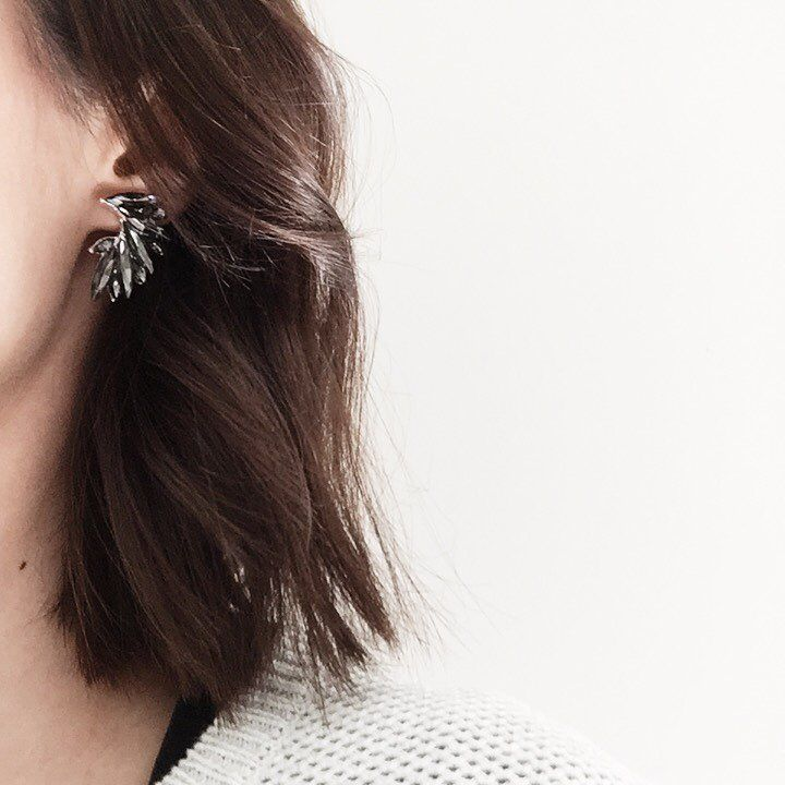 Earrings by @colettebycolettehayman  via @leysaflores  #colette#earrings#jewellery#jewelry#fashion#grey#minimal#minimalist#minimalism#VSCOcam#vsco#thatsdarling#mydarlingweekend#shopping#love#white#weheartit#pretty#feminine#