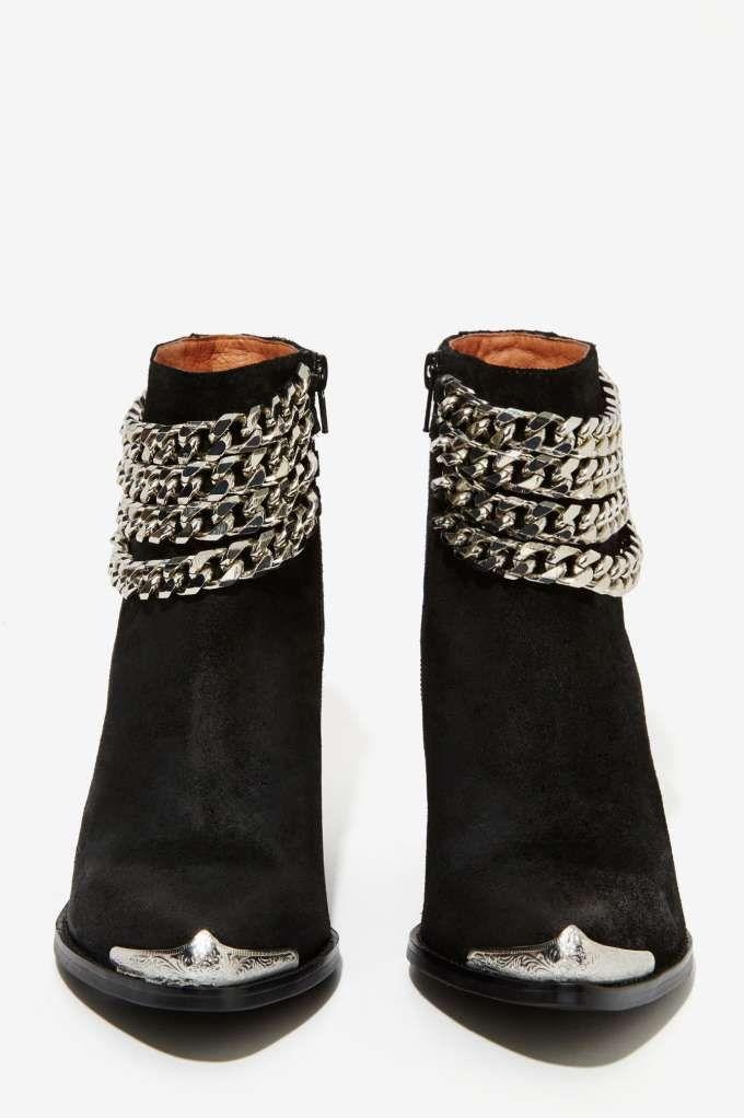 Jeffrey Campbell Bravado Suede Boot - Shoes | Flats | Shoes | All | Jeffrey Campbell