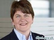 """The new Northern Ireland First Minister says her party's """"very strong Christian values"""" will continue under her leadership. Arlene Foster …"""