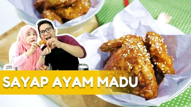 Resep dan Cara Membuat Honey Chicken Wings ala Dapur Adis
