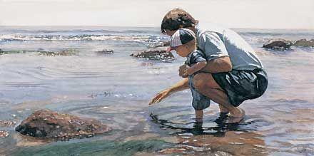 Time with Dad - Steve Hanks - World-Wide-Art.com - $50.00