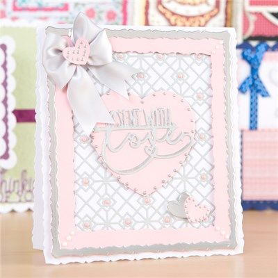 Tonic Layering Card Blank Dies - Bowscale (363877) | Create and Craft