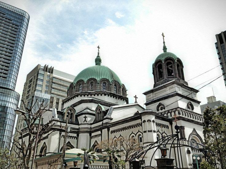 東京復活大聖堂(ニコライ堂)(Holy Resurrection Cathedral in Tokyo) en 神田駿河台, 東京都