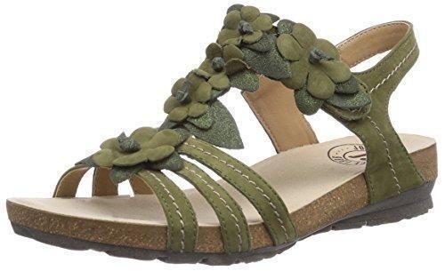 Oferta: 79.96€ Dto: -5%. Comprar Ofertas de Josef Seibel Andrea 09 - sandalias abiertas de cuero mujer, color verde, talla 40 barato. ¡Mira las ofertas!