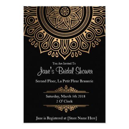 Classic Romance Bridal Shower Invitations - wedding invitations diy cyo special idea personalize card