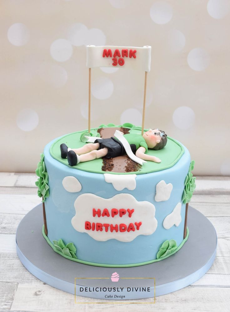 Birthday Cake Pictures For Runners : 25+ best Running cake ideas on Pinterest