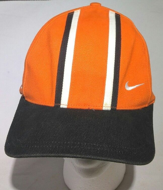 NIKE Voetbal cap hat adjustable Strap buckle orange adult soccer futbol  Rare  nike  BaseballCap cffb36ae40a