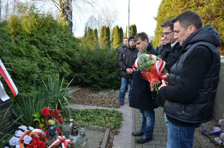 Hołd Polakom pomordowanym przez czeskich separatystów na Zaolziu