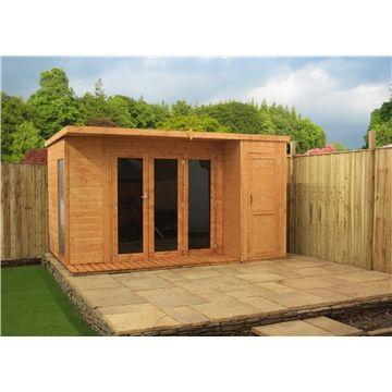 15 best garden shed images on pinterest garden houses for Combi garden room
