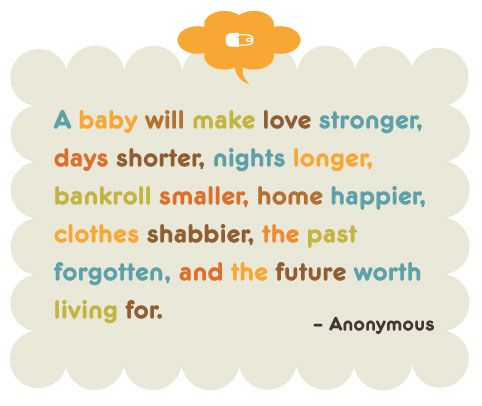 15 Inspirational Quotes for New Parents - blog - Pregnant Chicken