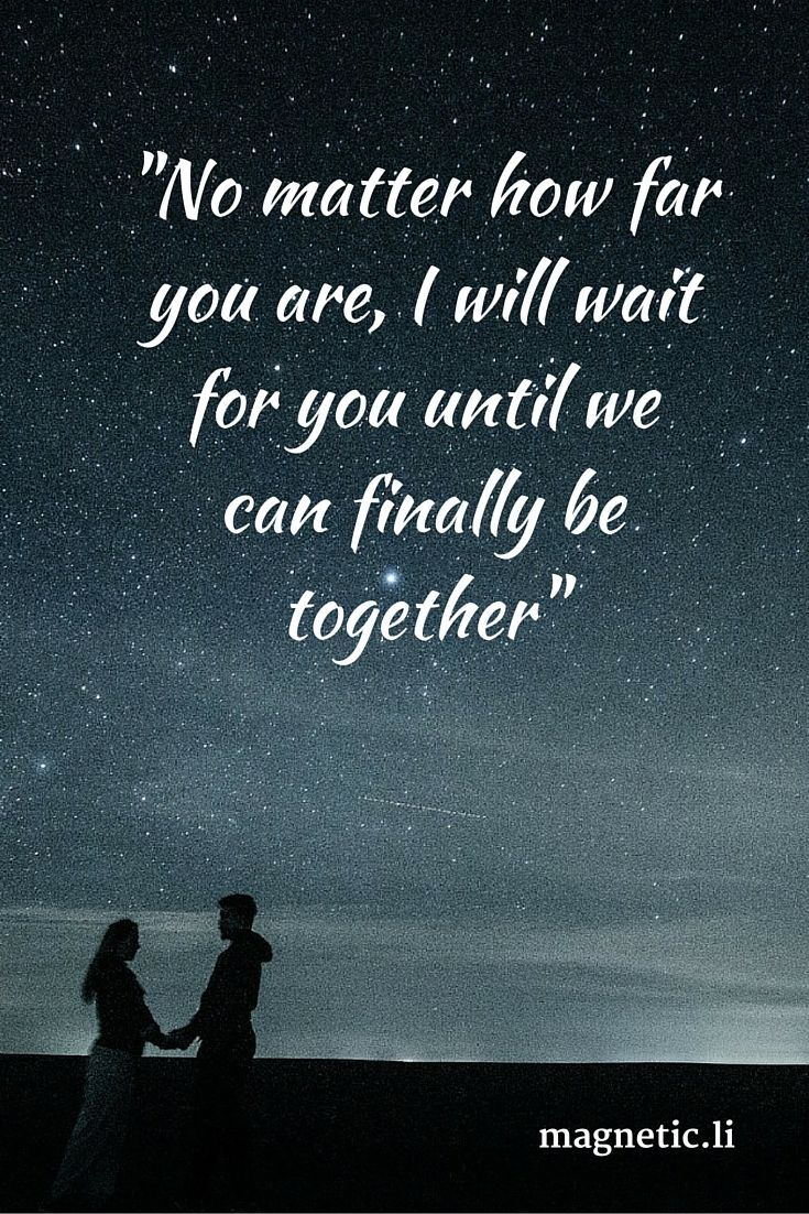 The 25 best Long distance love quotes ideas on Pinterest